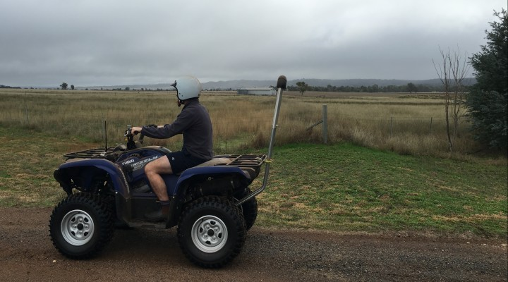 quad bike riding
